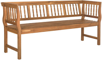One Kings Lane Bailey Outdoor Bench - Natural