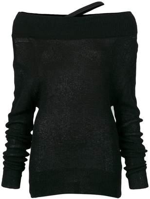 Ann Demeulemeester lightweight knit jumper