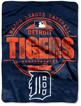 Northwest Company Detroit Tigers Micro Raschel Structure Blanket