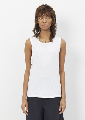 RE/DONE White Muscle Tank