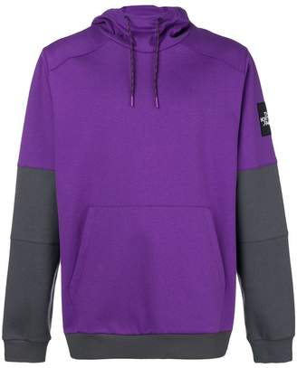 The North Face colour block hoodie
