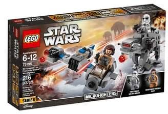 Lego Star Wars(TM) - Ski Speeder(TM) vs. First Order Walker(TM) Microfighters - 75195