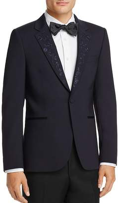 Paul Smith Embroidered Lapel Slim Fit Tuxedo Jacket $1,150 thestylecure.com