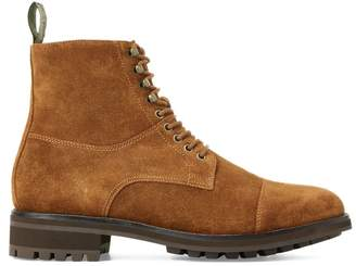 Bryson Suede Cap-Toe Boot