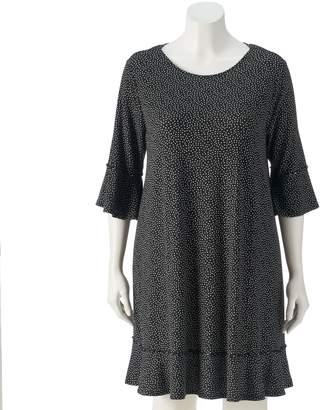 Lauren Conrad Plus Size Ruffle Sheath Dress