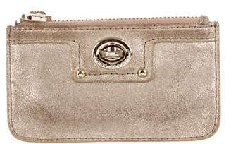 Marc Jacobs Metallic Coin Pouch