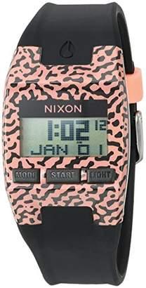 Nixon Men's 'Comp S' Plastic and Silicone Automatic Watch