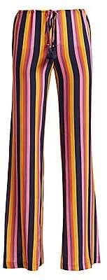 Figue Women's Saanchi Striped Silk Pants