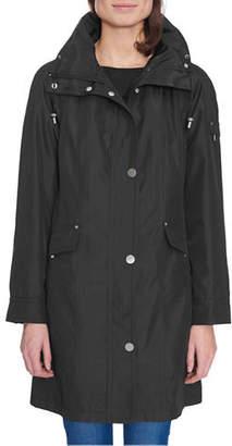 London Fog Plus Iridescent Bonded Jacket