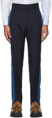Stella McCartney Blue Side Stripe Trousers