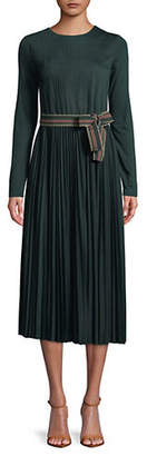 Max Mara Dorato Pleated Midi Dress