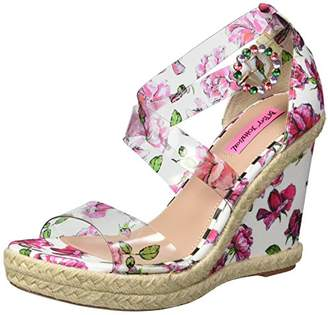 Betsey Johnson Women's Fraser Wedge Sandal