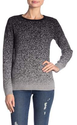 Magaschoni M BY Ombre Crew Neck Cashmere Sweater