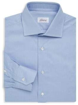 Brioni Woven Cotton Dress Shirt