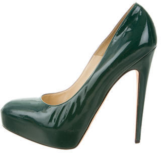 Brian Atwood Patent Leather Pumps $110 thestylecure.com