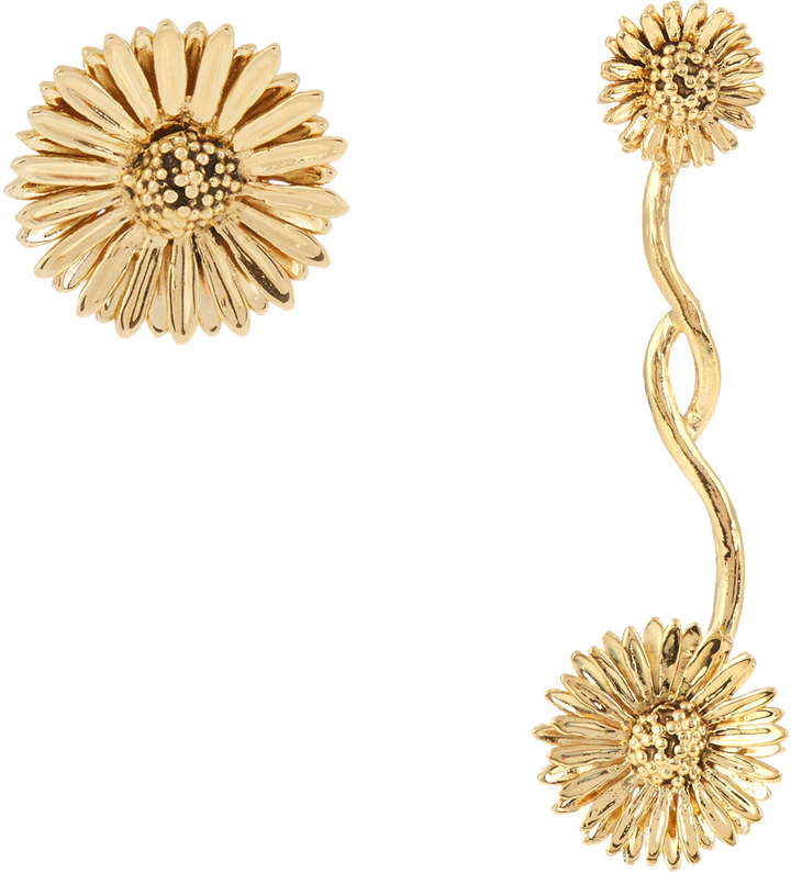 Aurelie Bidermann AURÉLIE BIDERMANN Athina gold-plated earrings