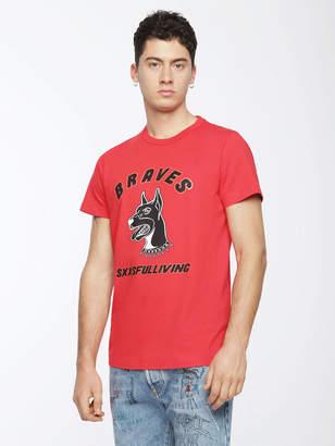 Diesel T-Shirts 0091A - White - M