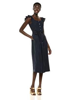 Rebecca Taylor Women's Sleeveless Midi Dress