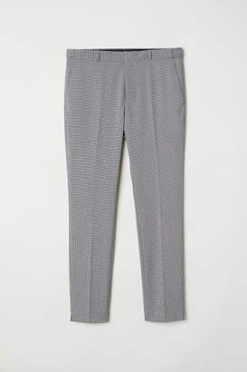 H&M Suit Pants Skinny fit - Blue