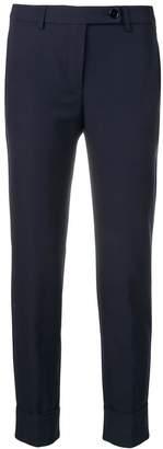 Blugirl slim cropped trousers