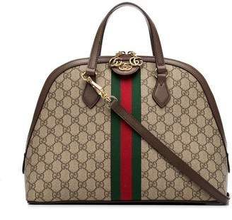 Gucci Ophidia GG Supreme Dome Top Handle Bag