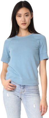 James Perse Short Sleeve Raglan Pullover $125 thestylecure.com