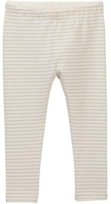 Tea Collection Sparkle Stripe Leggings (Baby & Toddler Girls)