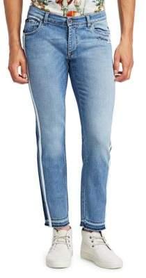 Dolce & Gabbana Jogger Striped Slim Jeans