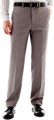 Jf J.Ferrar Men's JF End on End Flat-Front Straight-Leg Slim Fit Suit Pants