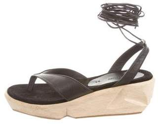 Rachel Comey Leather Wedge Sandals w/ Tags