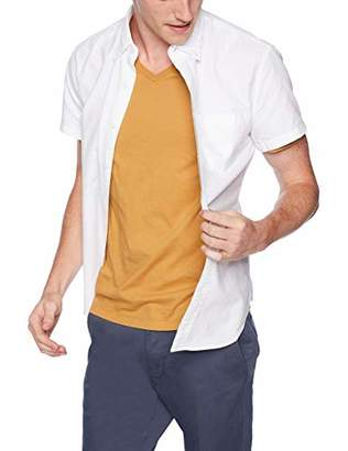 J.Crew Mercantile Men's Slim-Fit Short-Sleeve Solid Oxford Shirt