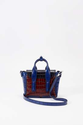 3.1 Phillip Lim Pashli Croc Mini Satchel