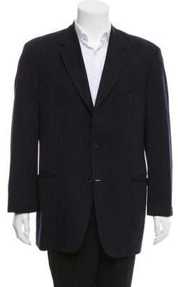 HUGO BOSS Pinstripe Wool Blazer