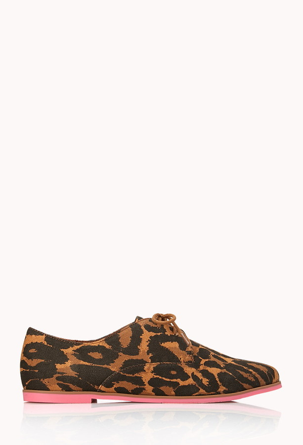 Forever 21 call of the wild oxfords
