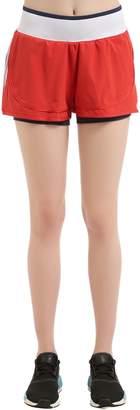 adidas by Stella McCartney Training Layered Shorts
