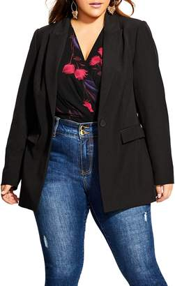 City Chic Simply Suited Blazer