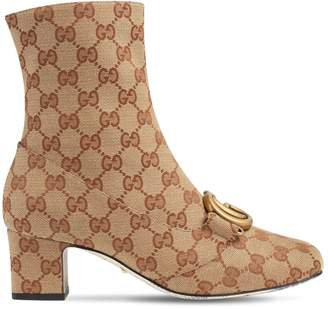 Gucci 55mm Victoire Gg Supreme Canvas Boots