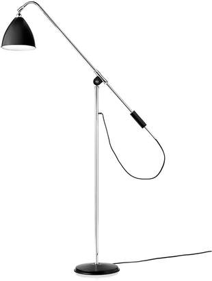 Bestlite BL4 Floor Lamp - Black/Chrome