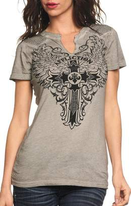 Affliction Syndic Short Sleeve T-shirt XS