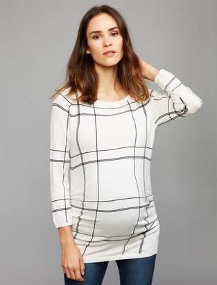 A Pea in the Pod Keyhole Detail Maternity Sweater