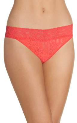 Hanky Panky Regular Rise Lace Thong
