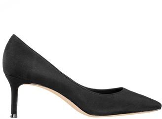 Nina Footwear Mid-Heel Pointed-Toe Pumps - Nina60