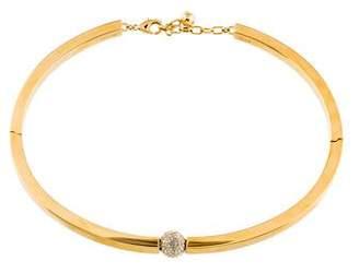 Chloé Crystal Darcey Collar Necklace