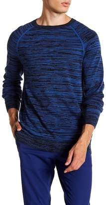 BOSS Srolon Striped Long Sleeve Sweater