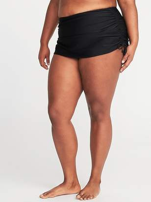 Old Navy Secret-Slim Side-Tie Plus-Size Swim Skirt