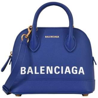 Balenciaga Ville Top Tote Bag Red