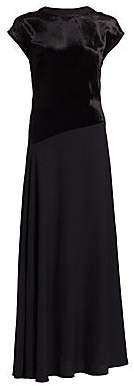 3.1 Phillip Lim Women's V-Back Maxi Dress
