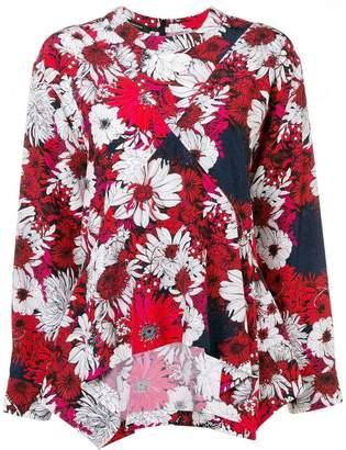 Cédric Charlier floral print top