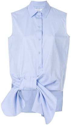 Victoria Beckham Victoria sleeveless bow shirt