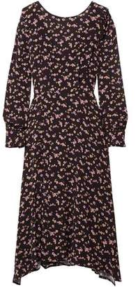 Paul & Joe Hyrma Floral-print Crepe Midi Dress